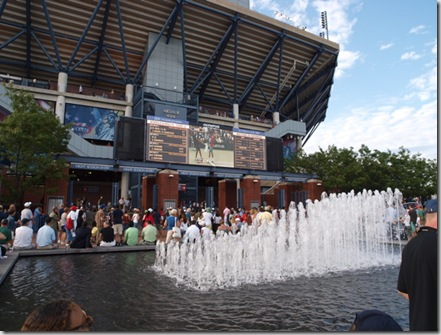arthur ashe fountains