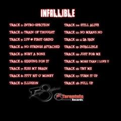 Infallible Insert Back copy