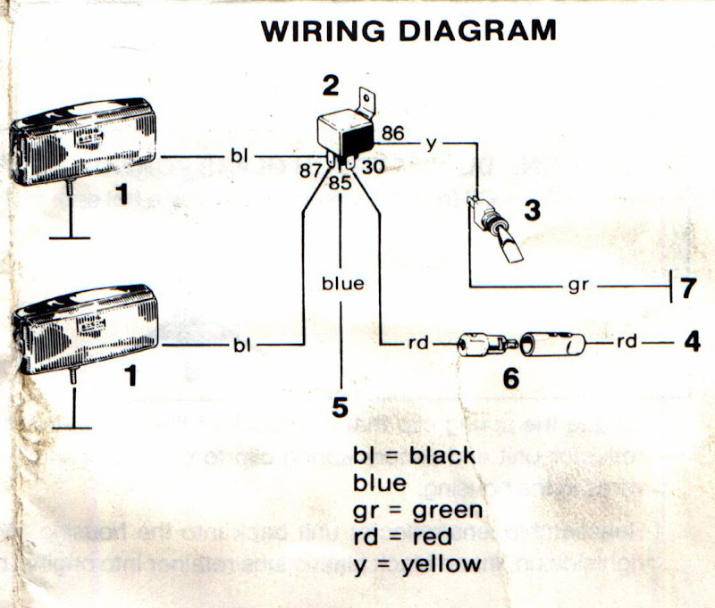 led offroad light wiring diagram solidfonts wiring off road lights relay nilza net