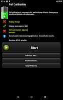 Screenshot of Battery HD