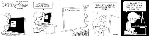 Little-Way-Webcomic-#00011: Luck