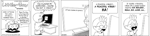 Little-Way-Webcomic-#00012: Peace