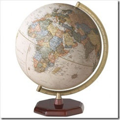 Huron Antique Table Globe