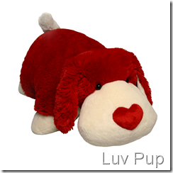 Pillow Pets - Valentine's  - Dog Pet