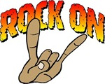 rock on hand