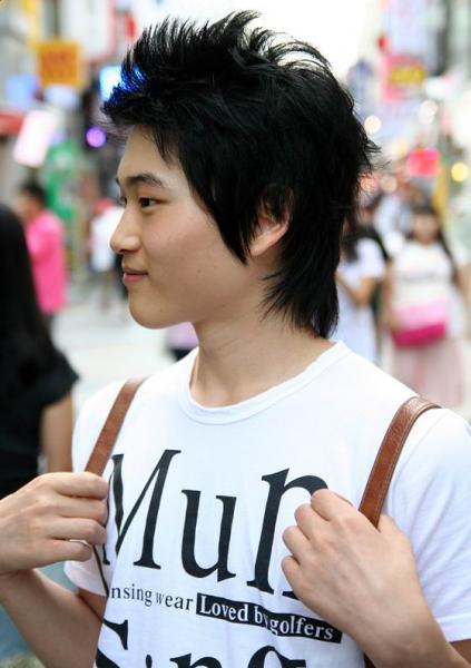 Korean Hairstyles For Guys 2009-2010