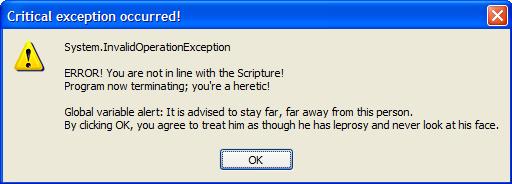 hereticAlert