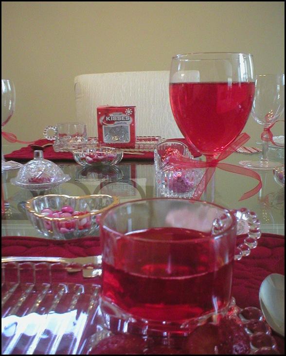 Valentines day drink