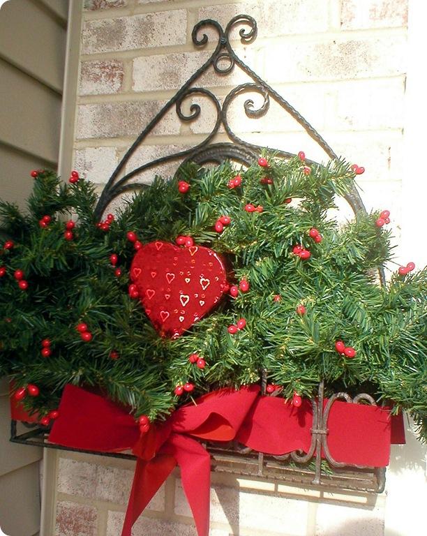 Wrought iron basket