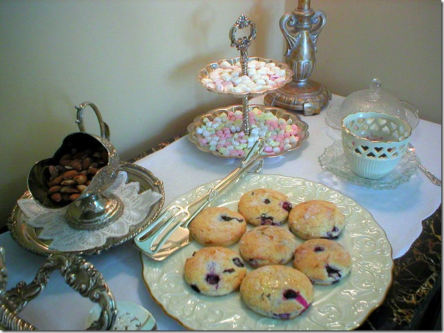 blueberry scones sideboard 3