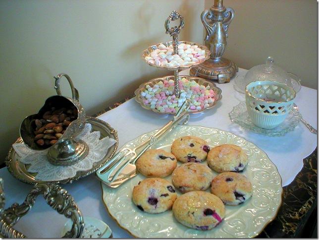 blueberry scones sideboard 3