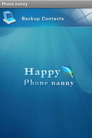 Phone nanny