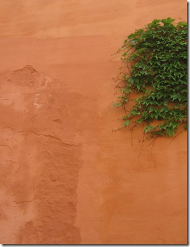 Mur ocre
