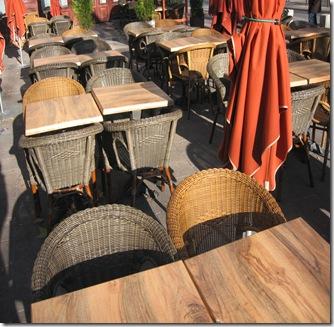 Terrasse marrons