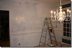 Painting the dining room 011