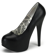 Bordello black pump stilettos