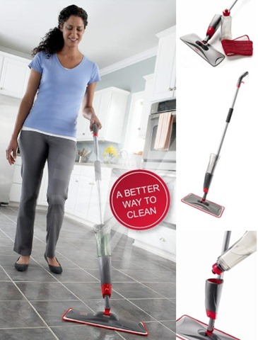 Cleaning the House with the Rubbermaid Reveal Mop