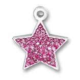 Pink Star Charm