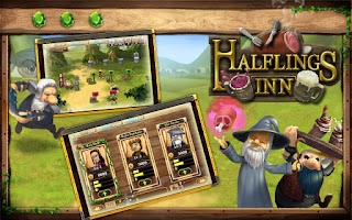 Screenshot of Halflings Inn
