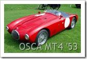 OSCA MT4 BARCHETTA 1953