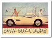 BMW 507 COUPE HARDTOP