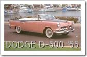 DODGE D-500 ROYAL LANCER '55