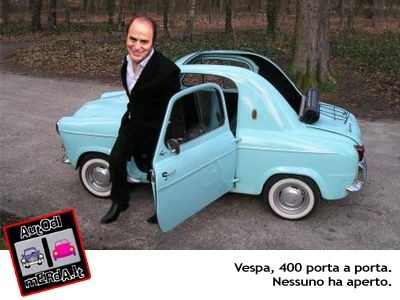 acma vespa 400 auto di merda it. Black Bedroom Furniture Sets. Home Design Ideas