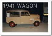 CROSLEY WAGON 1941