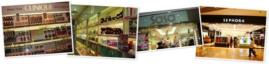 View Sasa and Sephora