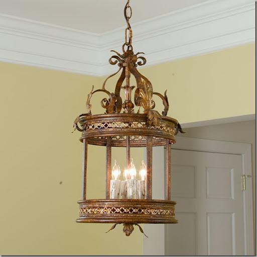 Beautiful Gold Lantern Shades of Light