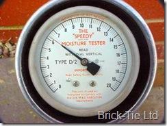 Speedy moisture gauge