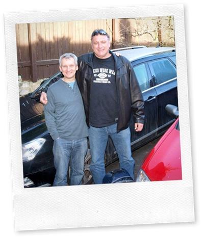 Alan Pettingale and Bryan Hindle