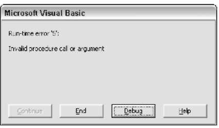 vba excel run macro with arguments