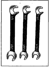 An offset distributor wrench is probably the most useful offset wrench.