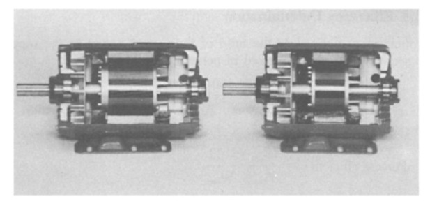 Comparisons of energy-efficient and standard motors.