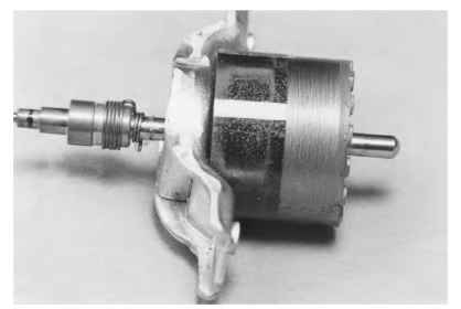 Induction synchronous motors electric motors for Shaded pole induction motor