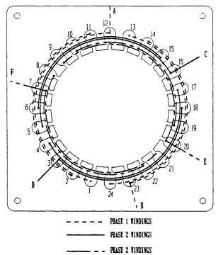 electric motor winding diagram on single phase stator wiring with Two Phase Operation Electric Motors on Honda Gx22 Carburetor Parts Diagram also 12 Pole Brushless Dc Motor Winding Diagram likewise Types Of Armature Windings additionally Two Phase Operation Electric Motors in addition Floor Fan Motor Winding Wiring Diagram.