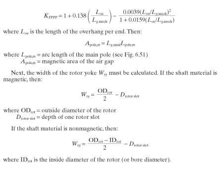 General Procedures For Calculating Performance Of Shaded Pole Motors
