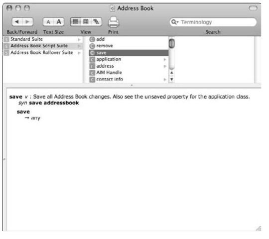 Click an item in a Suite to view details about its capabilities and syntax.