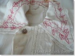 Den äldre skjortans krage