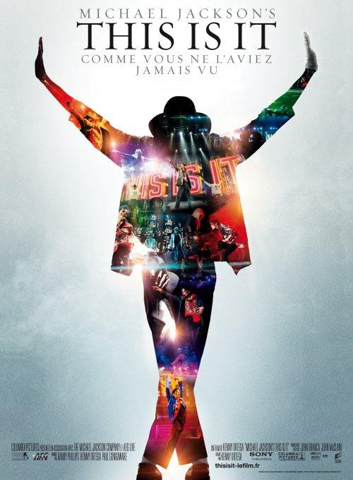 "jaquette afiche film ""this is it"" michael jackson"