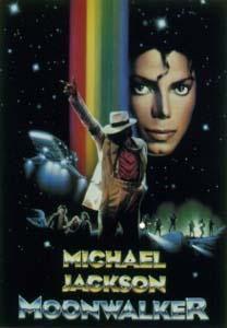 """jaquette afiche film """"moonwalker"""" michael jackson"""