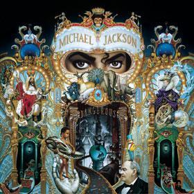"POCHETTE ALBUM MICHAEL JACKSON ""dangerous"""