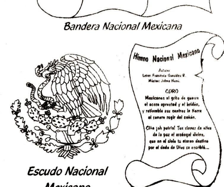 Imagenes De Los Simbolos Patrios Mexicanos. Awesome Foldable Smbolos ...