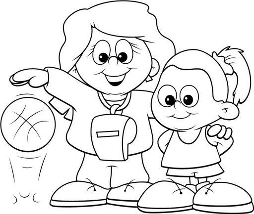 ... para niños, dibujos para pintar y actividades para tus alumnos