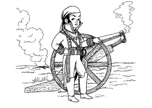 Dibujos de la independencia para Niños
