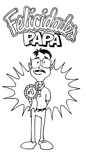 Congratulations Daddy Coloring Pages