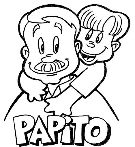 Coloring Pages DIA Del Papa