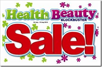 Health Beauty Blockbuster Sale