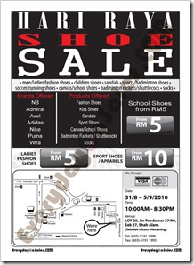 Hari-raya-Shoes-Warehouse-sale-shah-alam